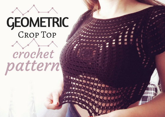 Beautiful Geometric Crop top Free Crochet Pattern · the Magic Loop Crop top Pattern Of Amazing 41 Models Crop top Pattern