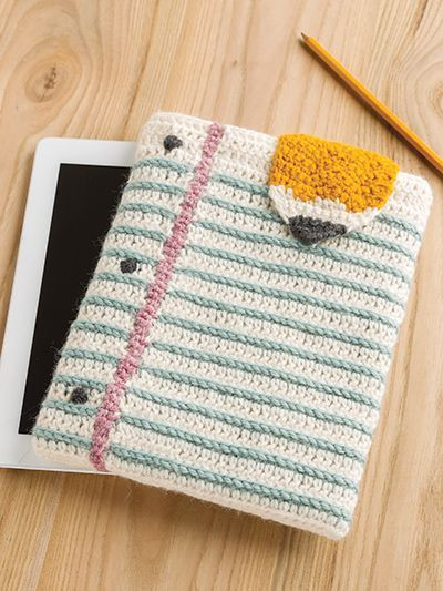 Beautiful Get Ready for Back to School with This Unique Crochet Crochet Tablet Cover Of Delightful 46 Ideas Crochet Tablet Cover