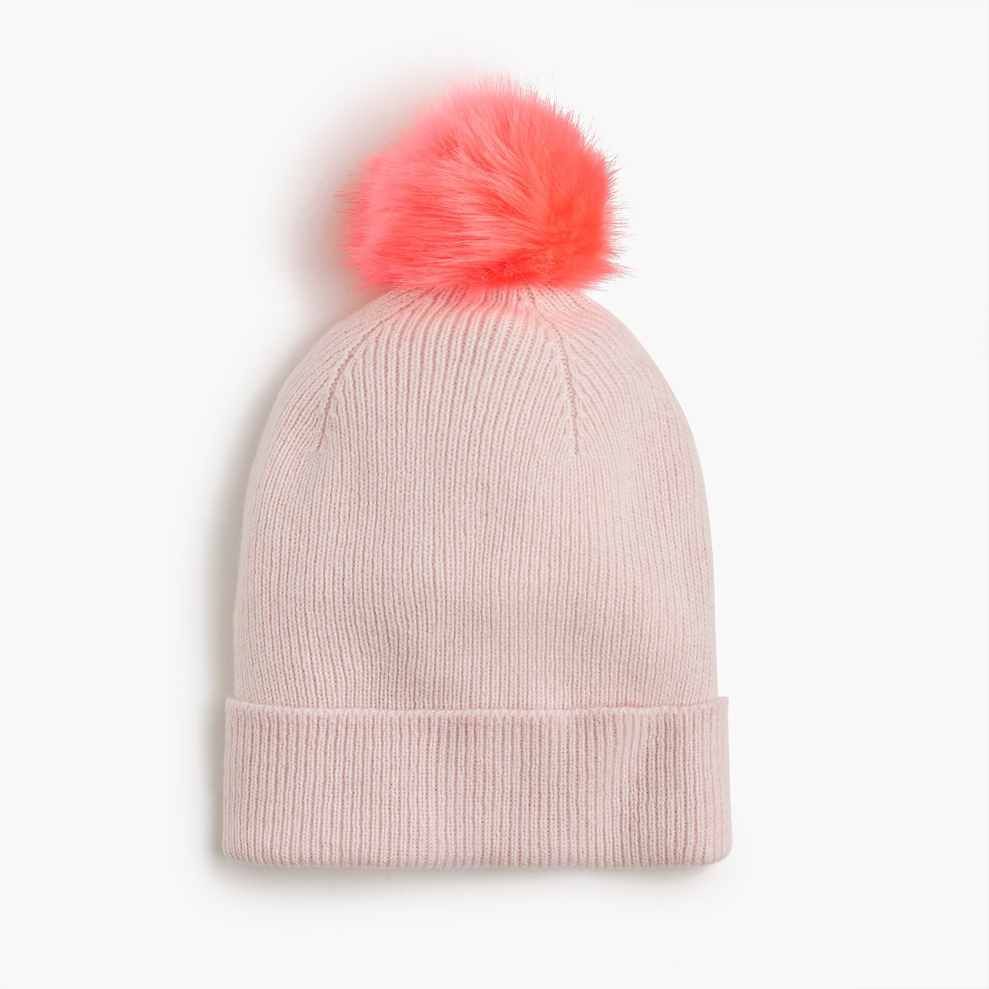 Beautiful Girls Knit Hat with Furry Pom Pom Girl Cold Weather Girls Knit Hats Of Delightful 44 Pics Girls Knit Hats