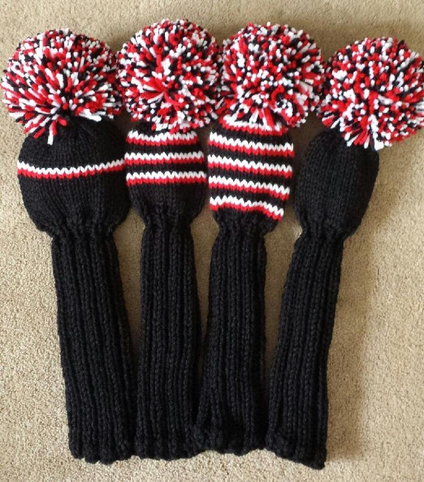 Beautiful Golf Club Head Covers Hand Knit Knit Golf Headcovers Of Innovative 47 Models Knit Golf Headcovers