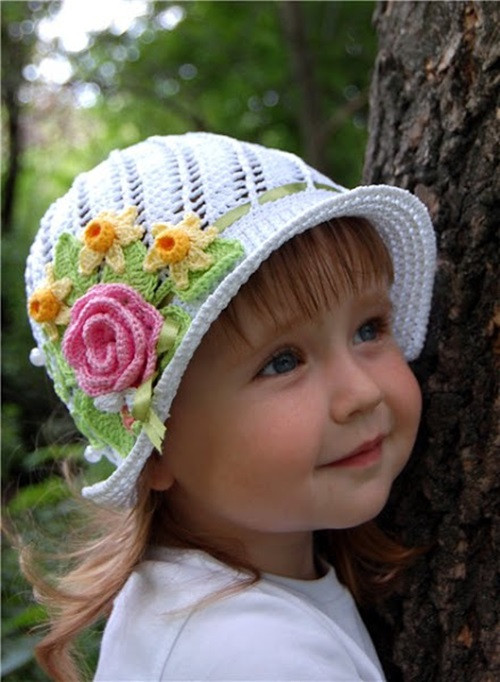 Beautiful Gorgeous Crochet Hat for Little Princesses Free Pattern Crochet Hat for Girl Of Amazing 41 Pictures Crochet Hat for Girl