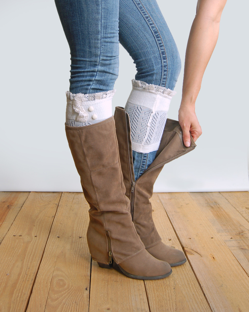 Beautiful Grace and Lace Boot Cuffs as Seen Shark Tank Boot Lace Boot Cuffs Of Awesome 50 Pictures Lace Boot Cuffs