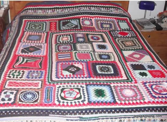 Beautiful Granny Sampler Afghan Cal Crochet Sampler Afghan Of Attractive 47 Pictures Crochet Sampler Afghan
