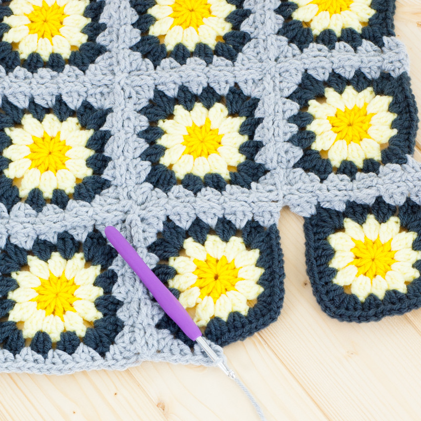 Beautiful Granny Squares How to Join as You Go Afghan Squares Of Perfect 50 Ideas Afghan Squares