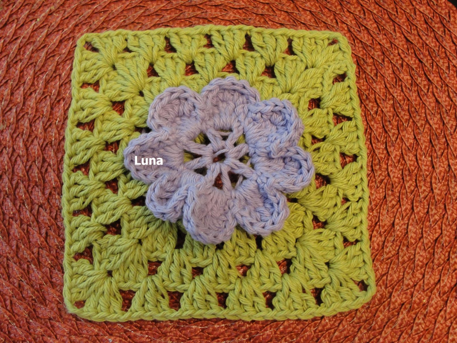 Beautiful Granny with Flower for the Sibol Group Sunniest Crochet Group Of Amazing 46 Pictures Crochet Group