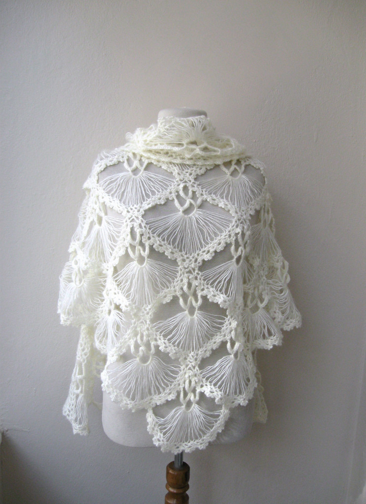 Beautiful Hand Crochet Triangle Lace Shawl Wrap Neckwarmer Mohair Ya Hand Crochet Yarn Of Delightful 43 Models Hand Crochet Yarn