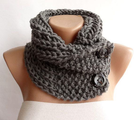 Beautiful Hand Knitted Scarf Neckwarmer button Cowl Scarf by Crochet button Scarf Of Top 47 Images Crochet button Scarf