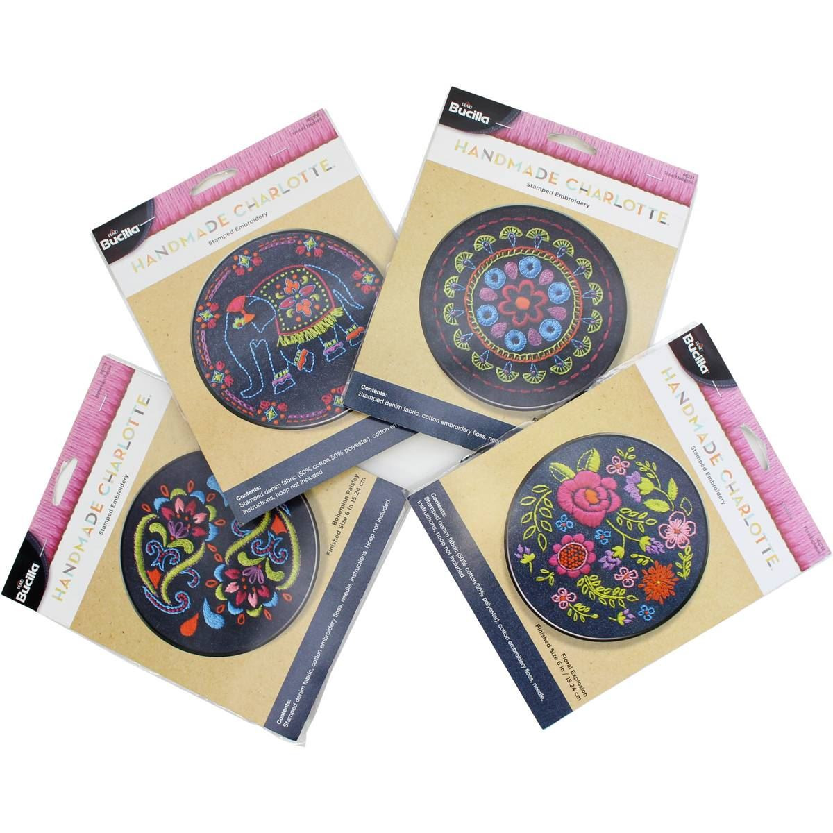 Beautiful Handmade Charlotte assorted Stamped Denim Embroidery Kit Hand Embroidery Kits Of Delightful 45 Photos Hand Embroidery Kits