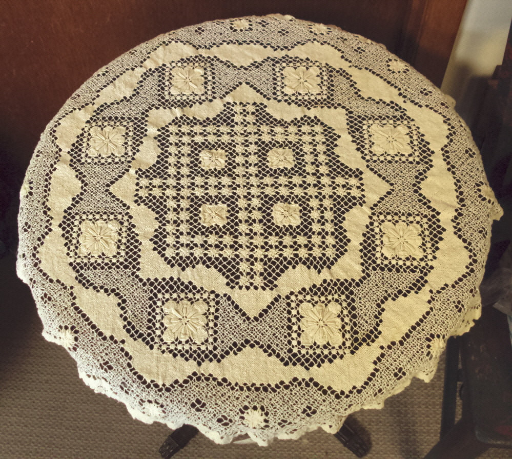 Beautiful Handmade Lace Round Tablecloth Crochet Lace Tablecloths Of Luxury 47 Images Crochet Lace Tablecloths