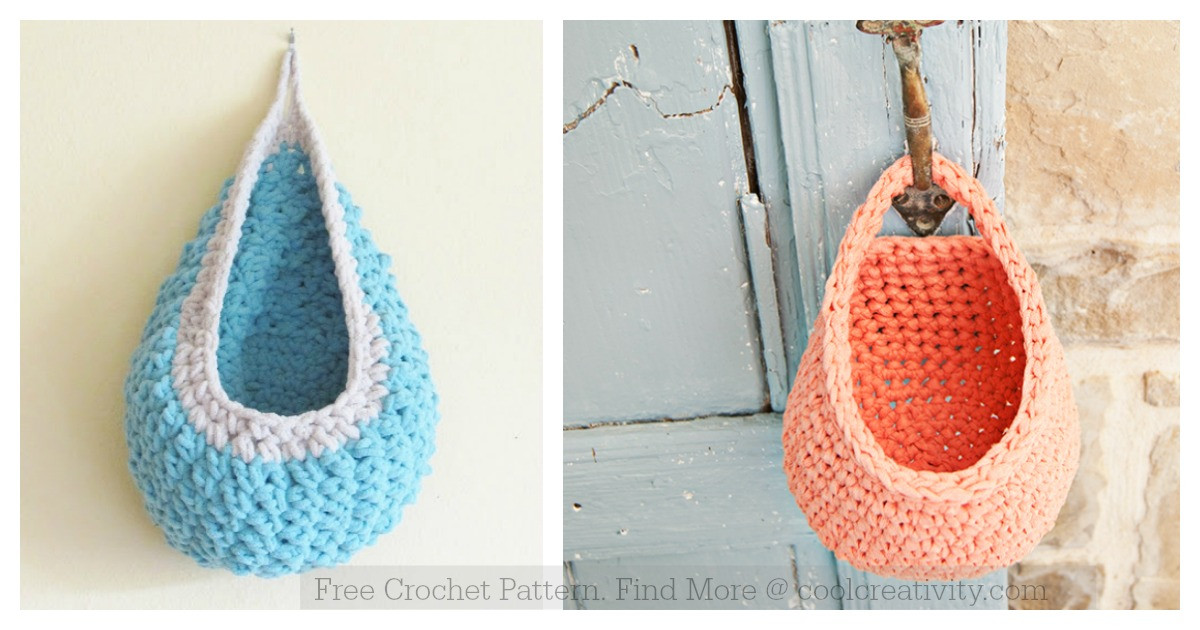 Beautiful Hanging Basket Free Crochet Pattern Crochet Hanging Basket Of Awesome 47 Photos Crochet Hanging Basket