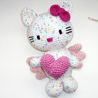 HELLO KITTY CROCHET PATTERN PURSE