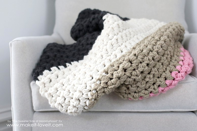 Beautiful How to Crochet A Chunky Blanket …an Affordable Beginner Chunky Yarn Blanket Pattern Of Wonderful 45 Images Chunky Yarn Blanket Pattern