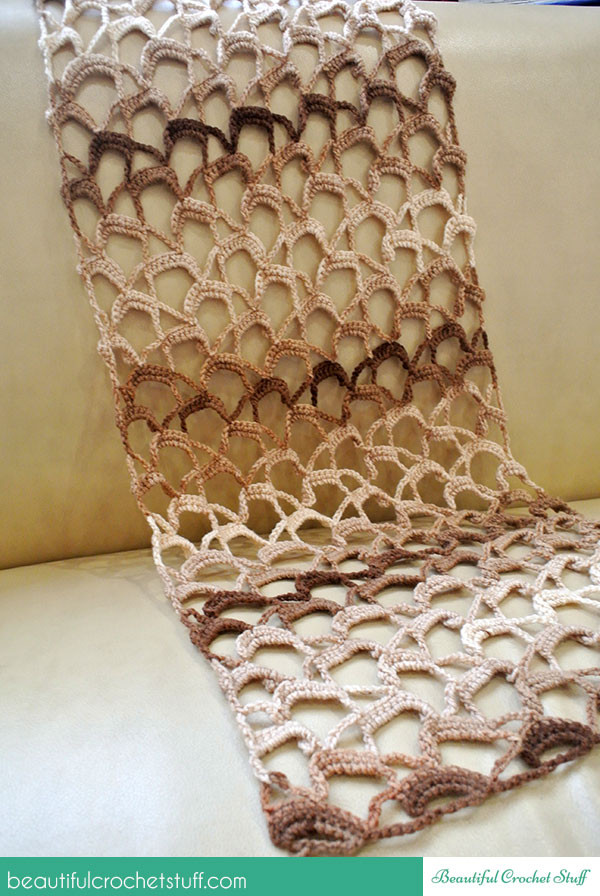 Beautiful How to Crochet A Lace Scarf Lacy Crochet Scarf Patterns Of Amazing 50 Pics Lacy Crochet Scarf Patterns