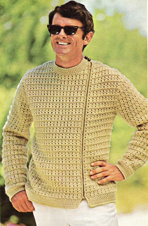 Beautiful How to Crochet A Men S Sweater Crochet Mens Sweater Of Attractive 49 Pictures Crochet Mens Sweater