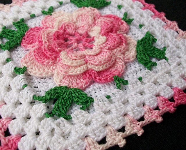 Beautiful How to Crochet A Rose 32 Free Patterns Crochet Square Blanket Patterns Of Lovely 43 Pictures Crochet Square Blanket Patterns