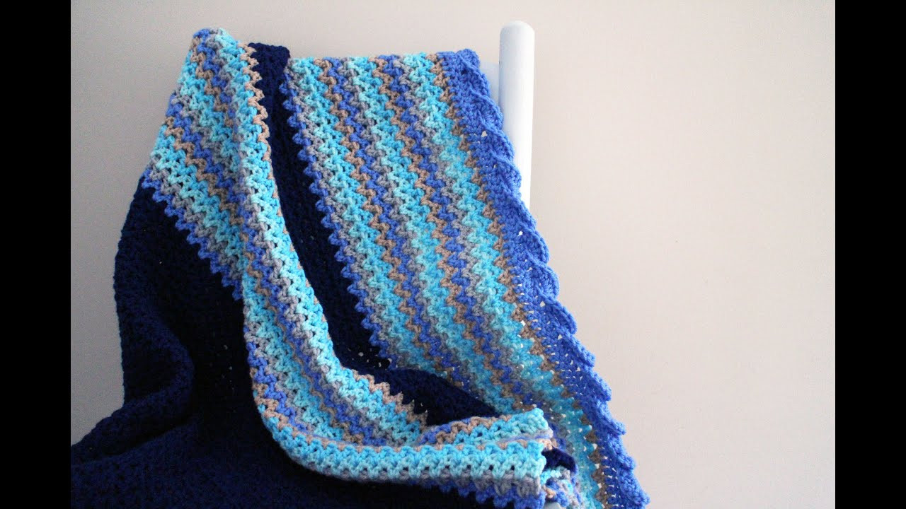 Beautiful How to Crochet Baby Waves Afghan Afghan Crochet Youtube Of Luxury 40 Pictures Afghan Crochet Youtube