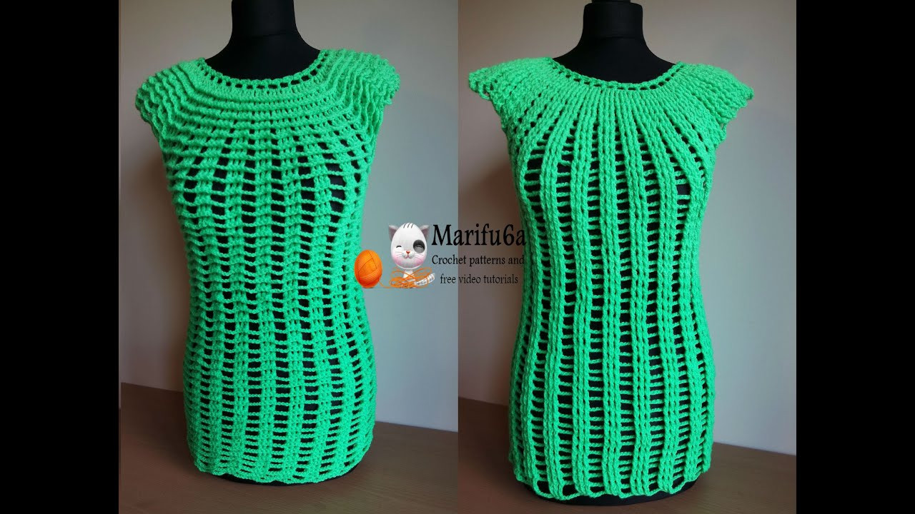 Beautiful How to Crochet Easy Two Side top Tunic Free Tutorial Free Crochet Tunic Patterns Of Marvelous 46 Images Free Crochet Tunic Patterns