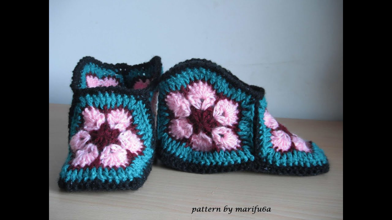 Beautiful How to Crochet Slippers Free Pattern Tutorial Youtube Free Crochet Patterns Of Unique 42 Models Youtube Free Crochet Patterns