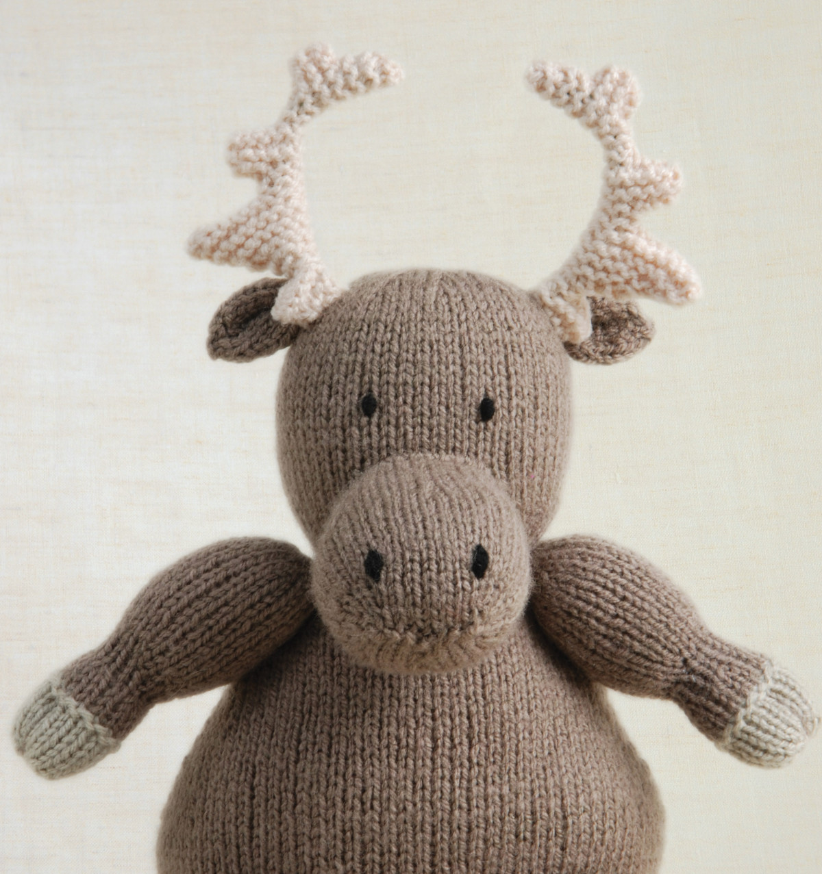 Beautiful How to Knit A Cuddly Moose Hobbycraft Blog Knitted Animals Of Attractive 49 Pics Knitted Animals