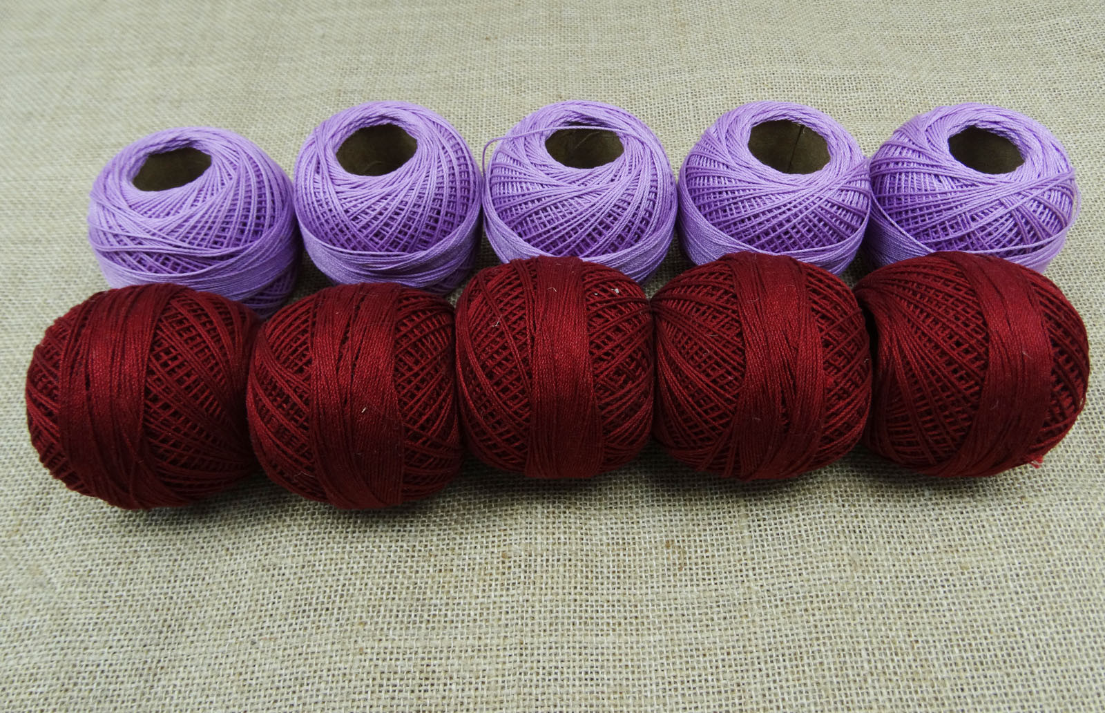 Indian Crochet Cotton Yarn Embroidery Knitting Skein
