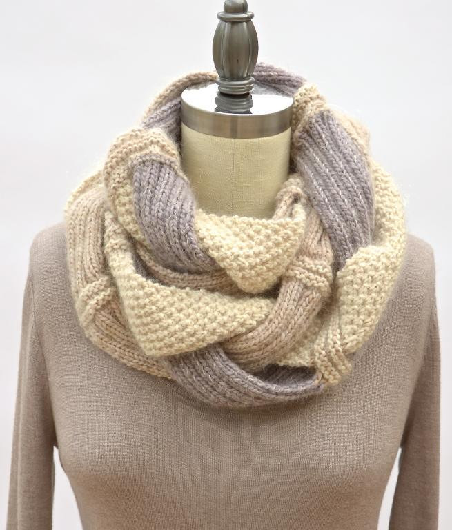 Beautiful Infinity Scarf Knitting Patterns Free Infinity Scarf Pattern Of Marvelous 48 Images Free Infinity Scarf Pattern