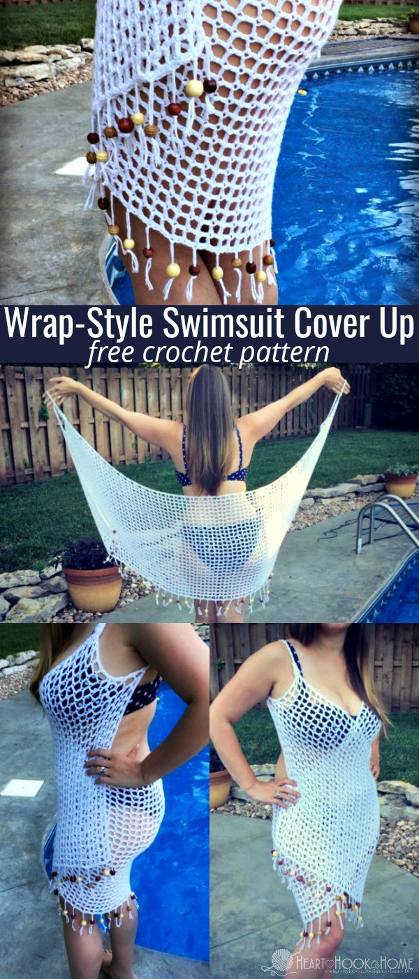 Beautiful It S A Wrap Free Swimsuit Cover Up Crochet Pattern Crochet Beach Cover Ups Patterns Of Beautiful 40 Models Crochet Beach Cover Ups Patterns