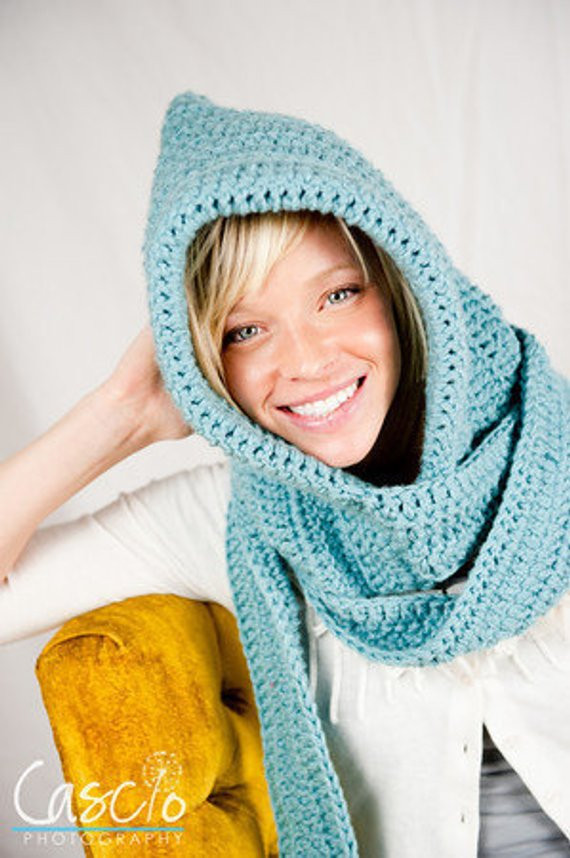 Beautiful Items Similar to Crochet Pattern Hooded Scarf Hooded Scarf Pattern Of Brilliant 43 Pics Hooded Scarf Pattern