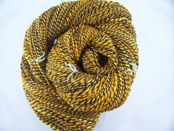 Beautiful Items Similar to Handspun Yarn Yellow Gold and Black 271 Black and Gold Yarn Of Superb 46 Images Black and Gold Yarn