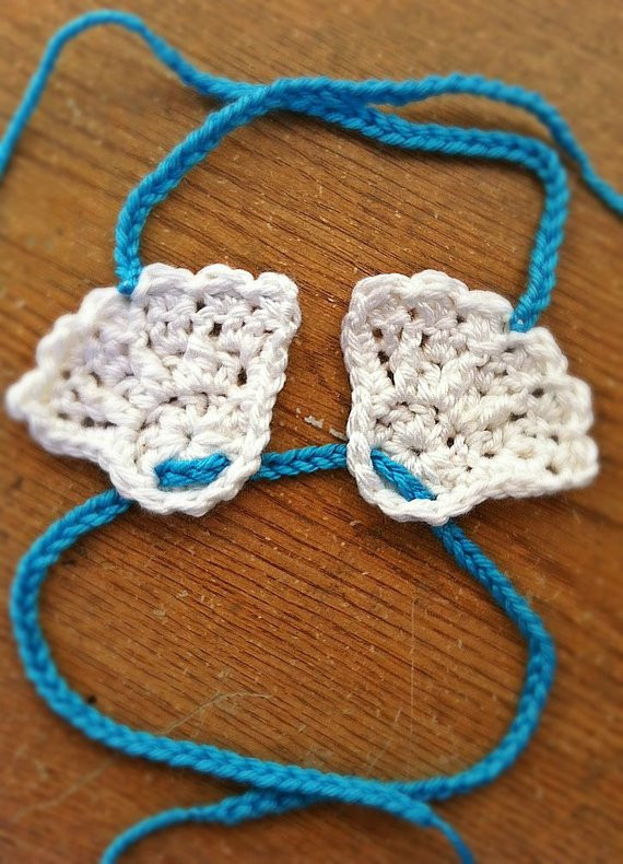 Items similar to Shell Baby Bikini Top Crochet Pattern 05