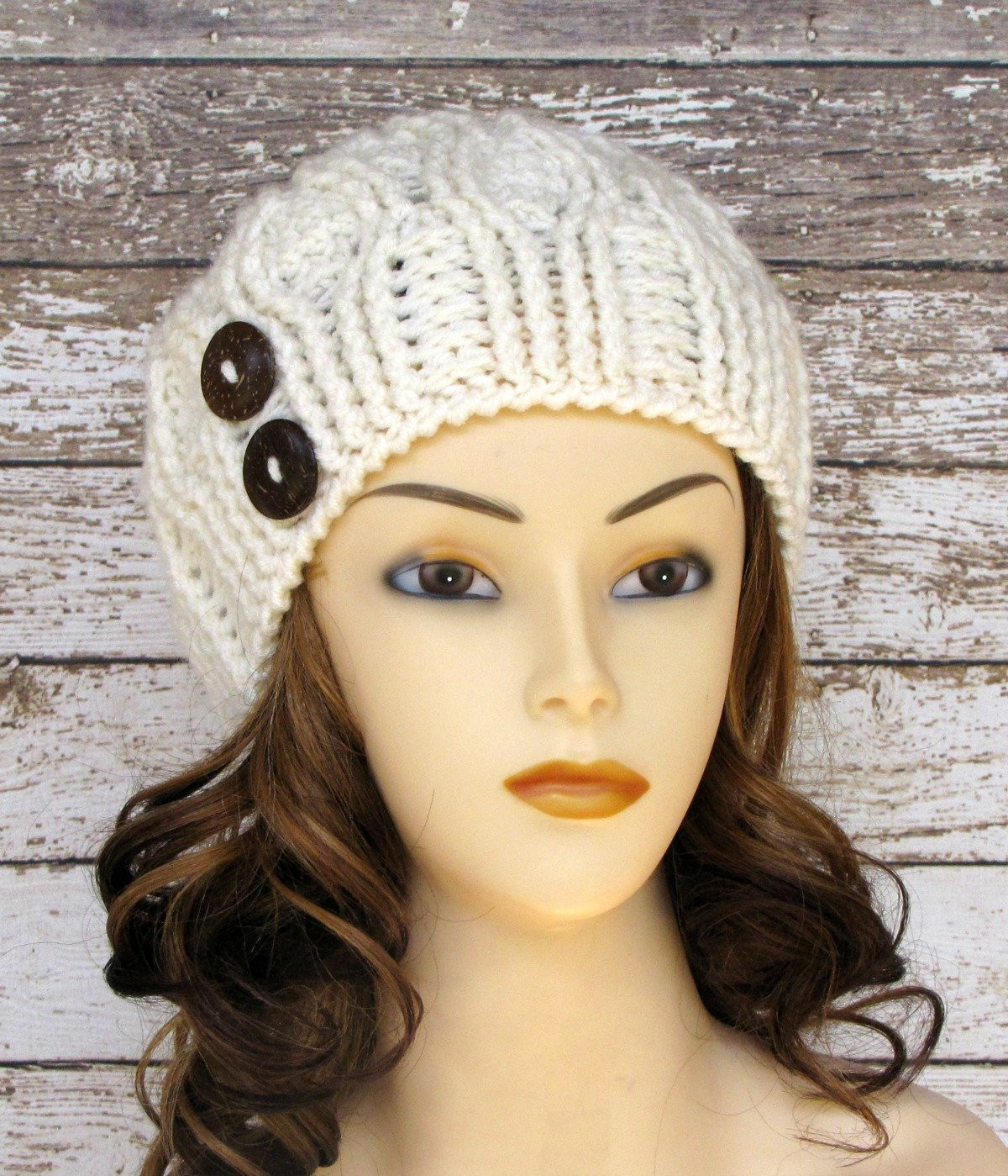 Beautiful Ivory Women S Winter Hat F White La S Cabled Cloche Winter Knit Hats Of Charming 40 Photos Winter Knit Hats