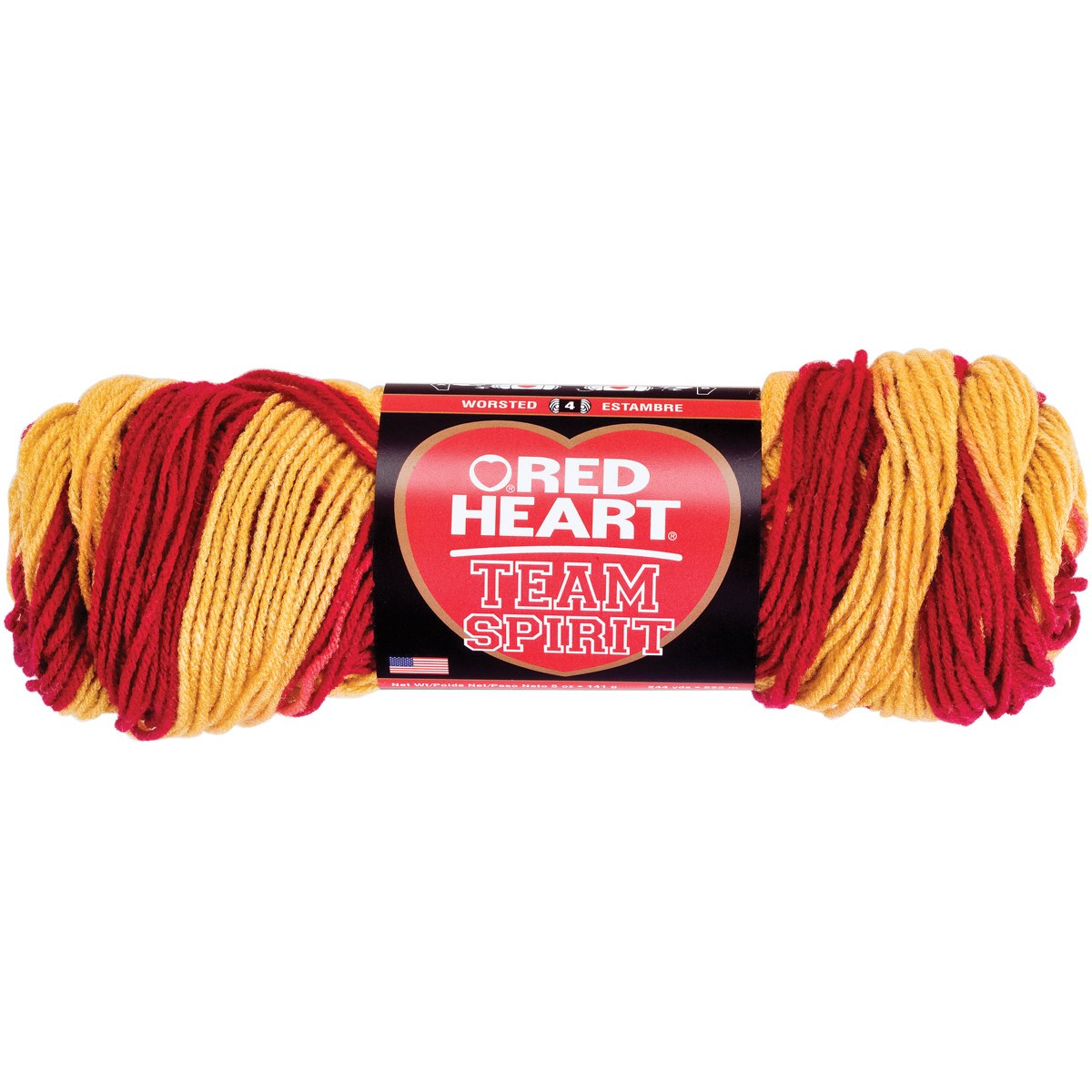 Beautiful Jet Red Heart Team Spirit Yarn Team Colors Yarn Of Top 44 Photos Team Colors Yarn