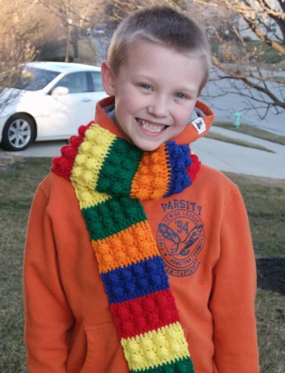 Beautiful Kids Crochet Lego and Scarfs On Pinterest Crochet Kids Scarf Of New 9 Cool Crochet Scarf Patterns Crochet Kids Scarf