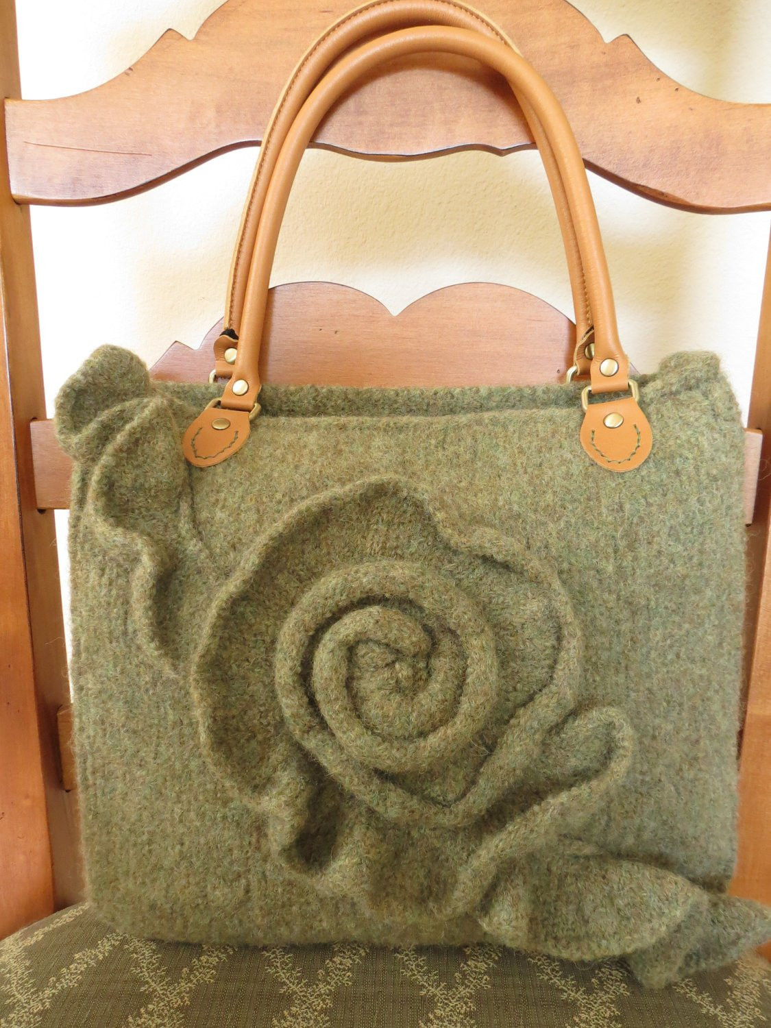 Beautiful Knit and Felted Purse Pattern Knit Bag Pattern Knit Knitting Bags and totes Of Marvelous 48 Ideas Knitting Bags and totes