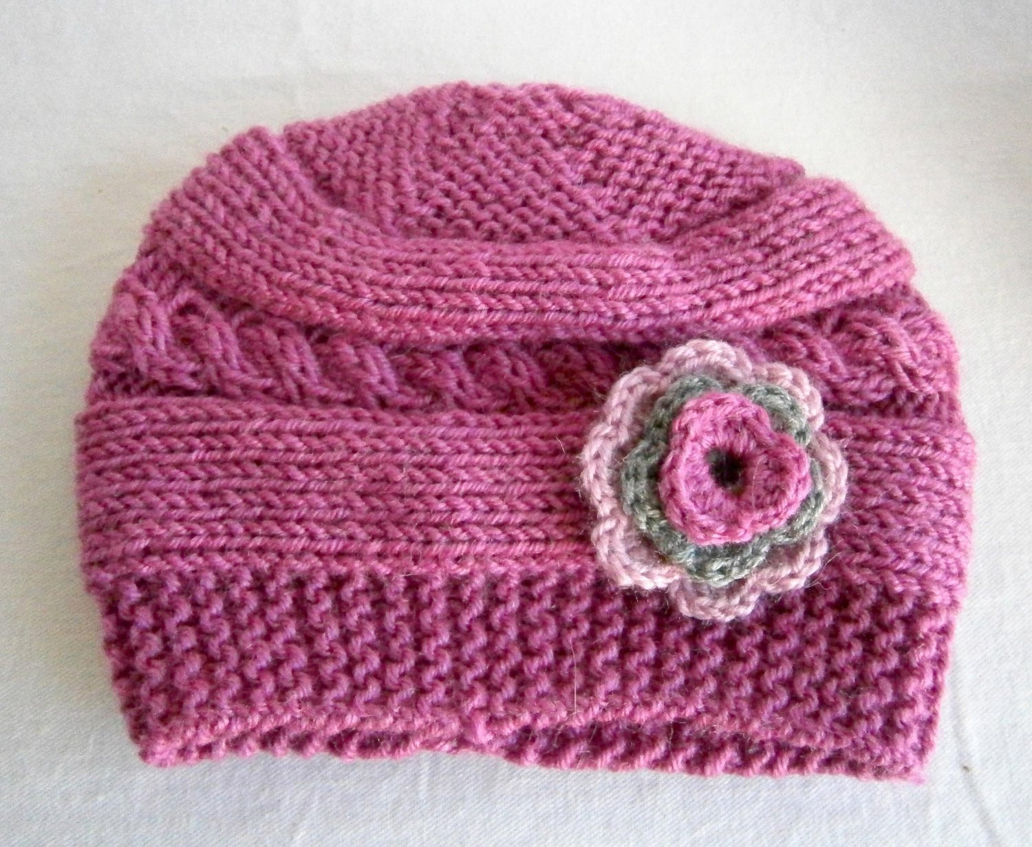 Beautiful Knit Baby Girl Hats Knit Baby Hat Girl Newborn by Knitting Baby Cap Of Lovely 48 Photos Knitting Baby Cap