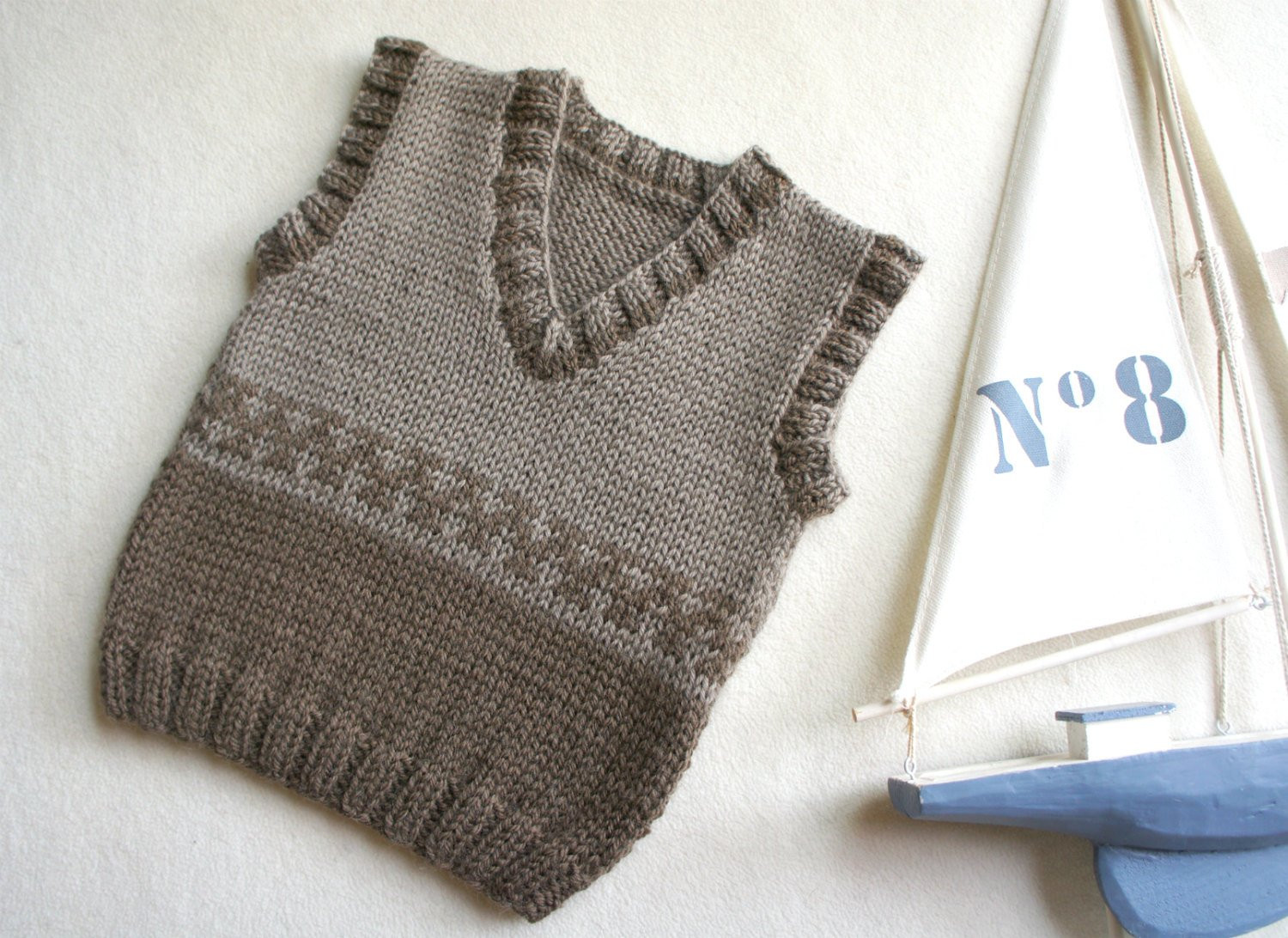 Beautiful Knit Baby Vest Wool Baby Tank Knitted Brown Ves Boys Hand Knitted Vest Of Great 48 Pics Knitted Vest