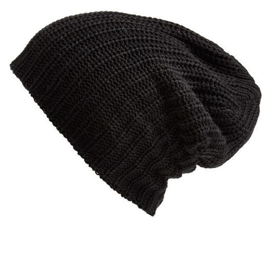 Beautiful Knit Beanie Beanie Hats and Slouch Beanie On Pinterest Black Slouchy Beanie Of Great 40 Models Black Slouchy Beanie