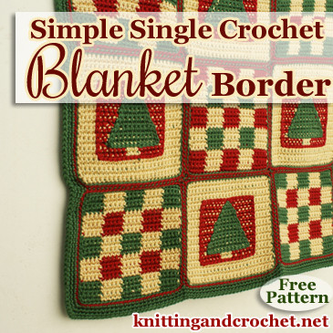 Beautiful Knit Blanket Border Patterns Single Stitch Crochet Blanket Of Marvelous 48 Images Single Stitch Crochet Blanket