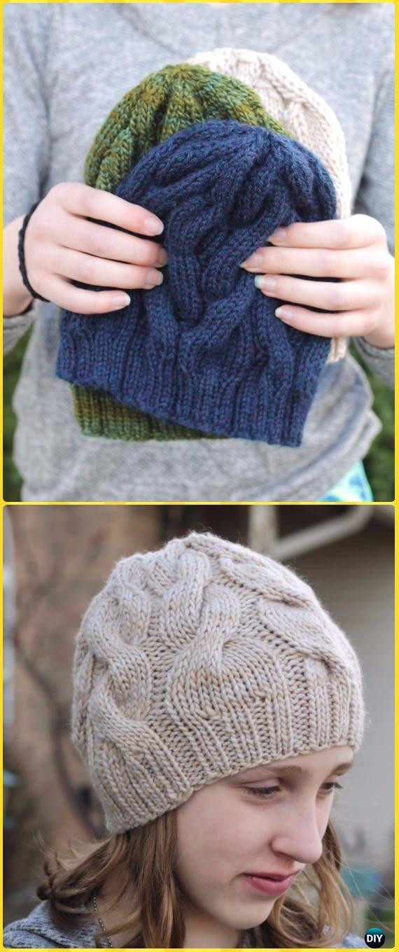 Beautiful Knit Cable Beanie Hat Free Patterns Adult Hat Knitting Pattern Of Awesome 47 Images Adult Hat Knitting Pattern