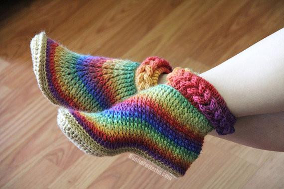 Beautiful Knit Look Braid Stitch Boots Adult Sizes – Bonita Patterns Knitted Booties for Adults Of Delightful 47 Images Knitted Booties for Adults
