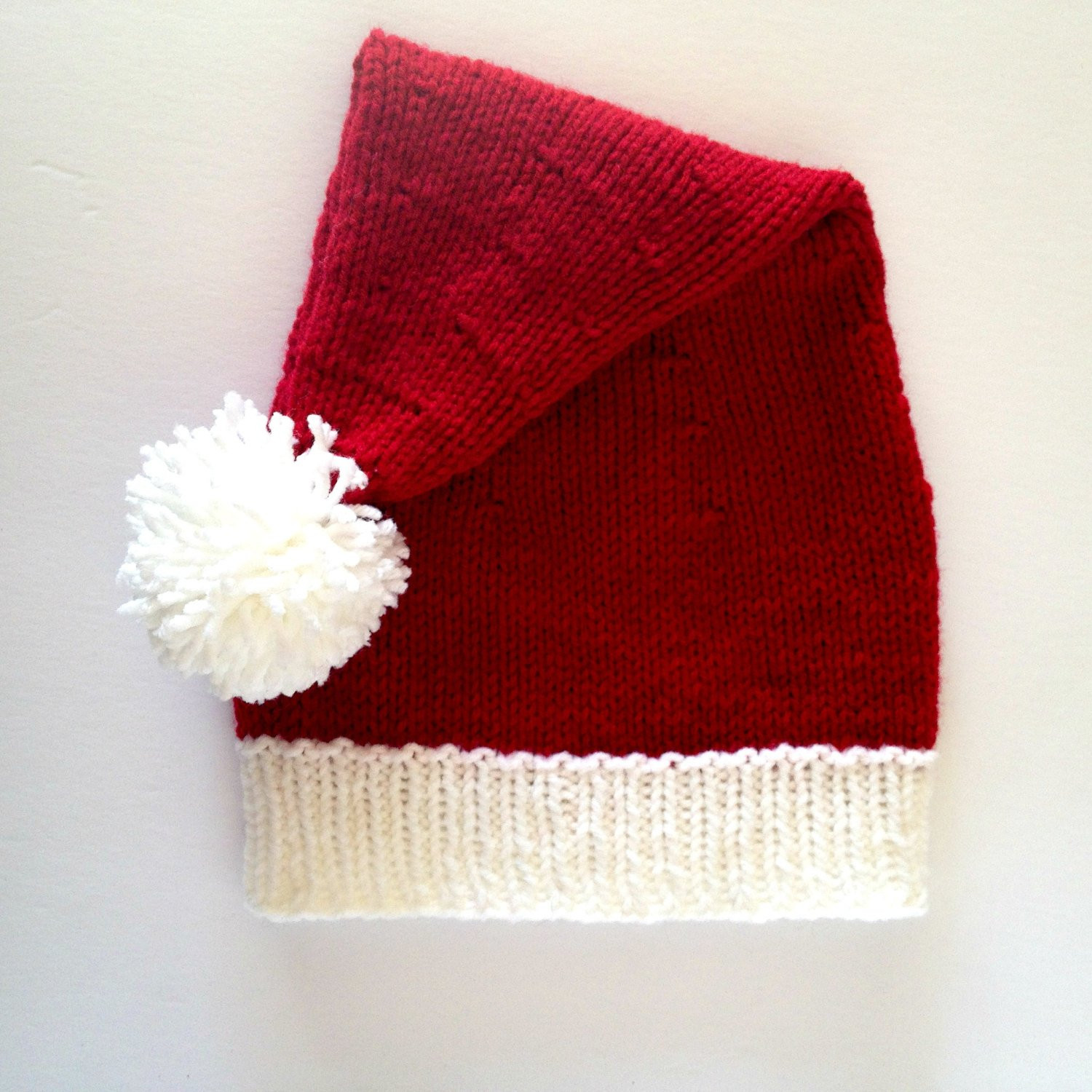Beautiful Knit Santa Hat Santa Claus Hat Santa Clause Hat Christmas Knitted Christmas Hats Of Adorable 50 Models Knitted Christmas Hats