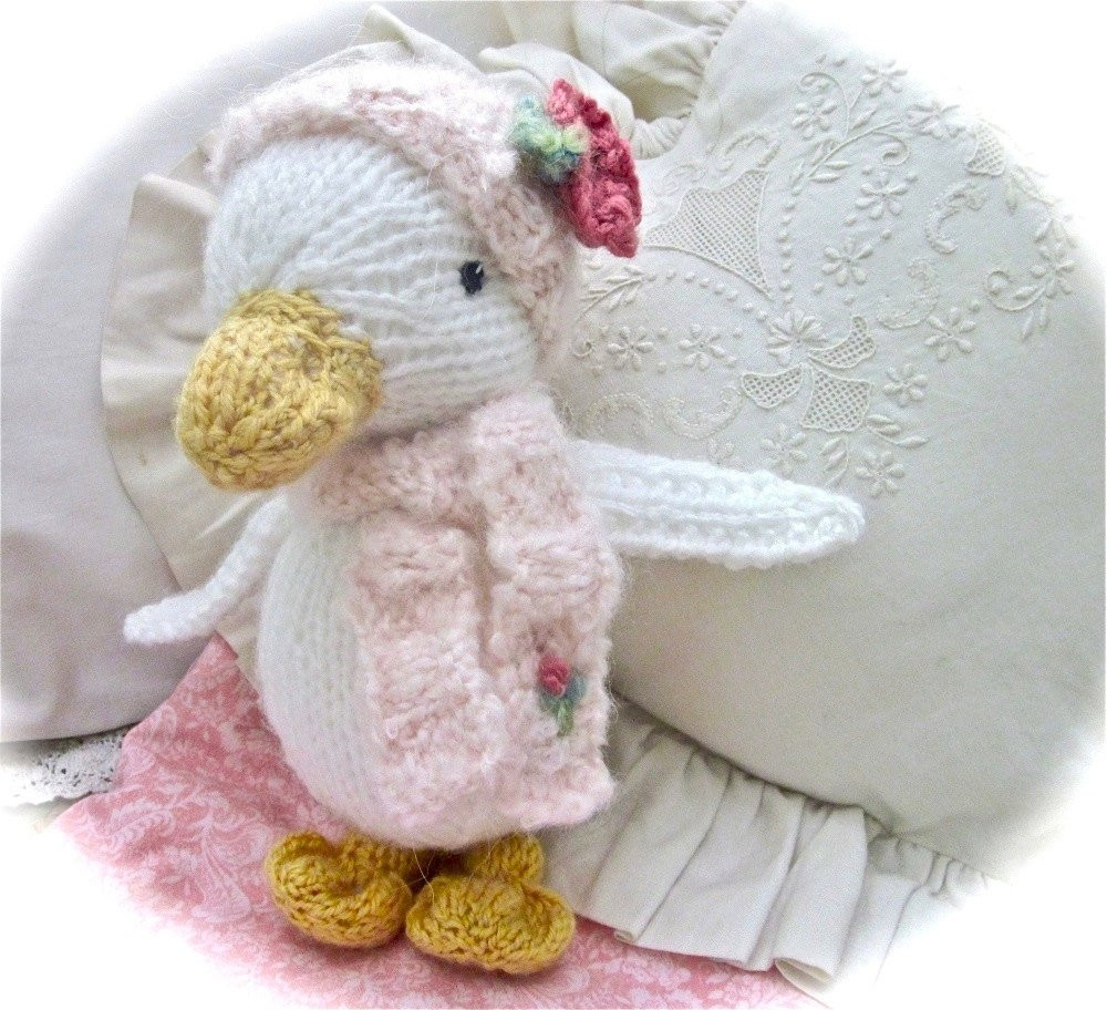 Beautiful Knit Stuffed Animal Duck Doll Hand Knit and Embroidered Knit Stuffed Animals Of Beautiful 47 Pics Knit Stuffed Animals