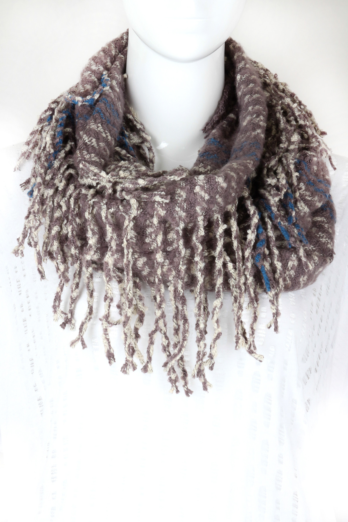 Beautiful Knitted Fringe Infinity Scarf Scarves Scarf Fringe Of Innovative 50 Pics Scarf Fringe
