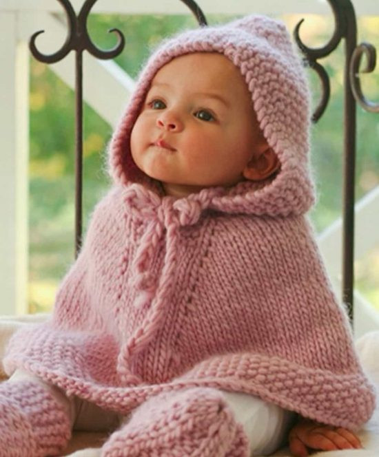 Beautiful Knitted Hooded Baby Poncho Pattern Free Baby Poncho Knitting Pattern Of Amazing 42 Pics Baby Poncho Knitting Pattern