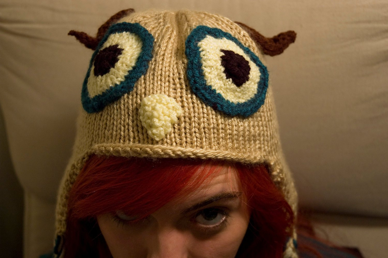 Beautiful Knitted Owl Ear Flap Hat Knitted Owl Hat Of Amazing 40 Photos Knitted Owl Hat