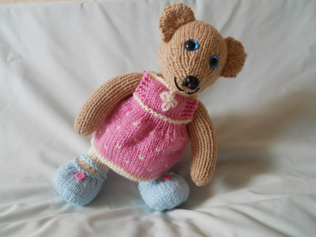Beautiful Knitted Teddy Bears Knitted Bear Pattern Of Brilliant 42 Photos Knitted Bear Pattern