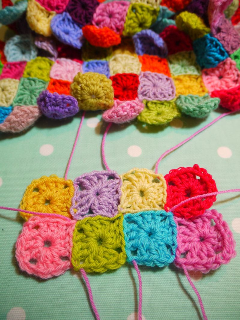 Beautiful Knot Your Nana S Crochet 10 Different Ways to Join Crochet Granny Squares together Of Marvelous 48 Pictures Crochet Granny Squares together