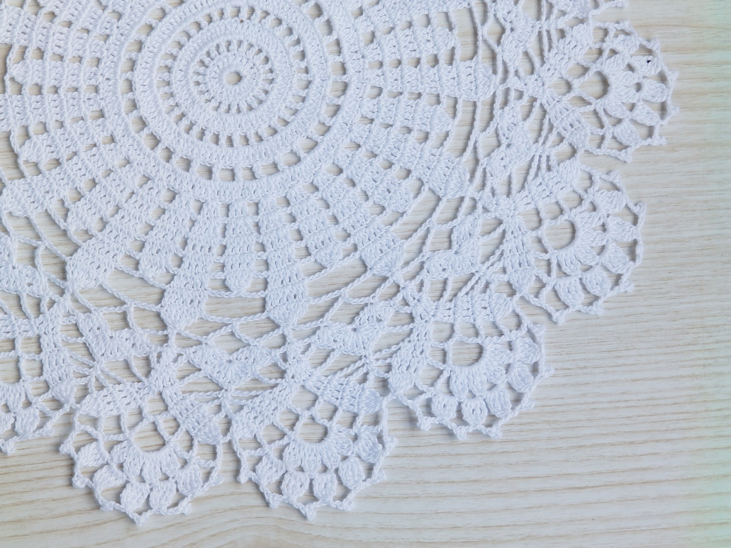 Beautiful Lace Crochet White Round Table Decoration Doily Handmade Crochet Table Of Awesome 45 Models Crochet Table