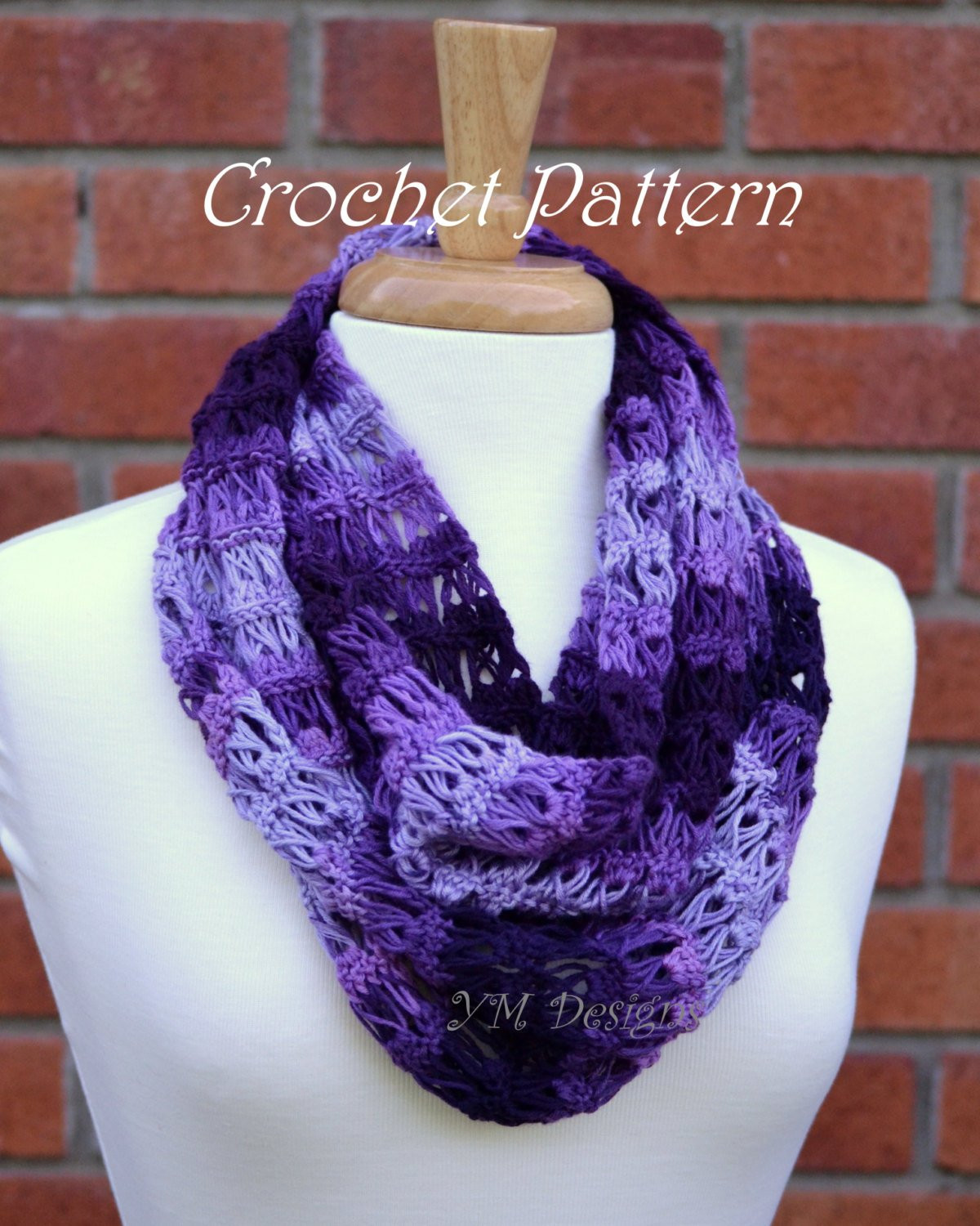 Beautiful Lace Infinity Scarf Crochet Pattern Infinity Cowl Crochet Pattern Of Awesome 49 Pics Infinity Cowl Crochet Pattern