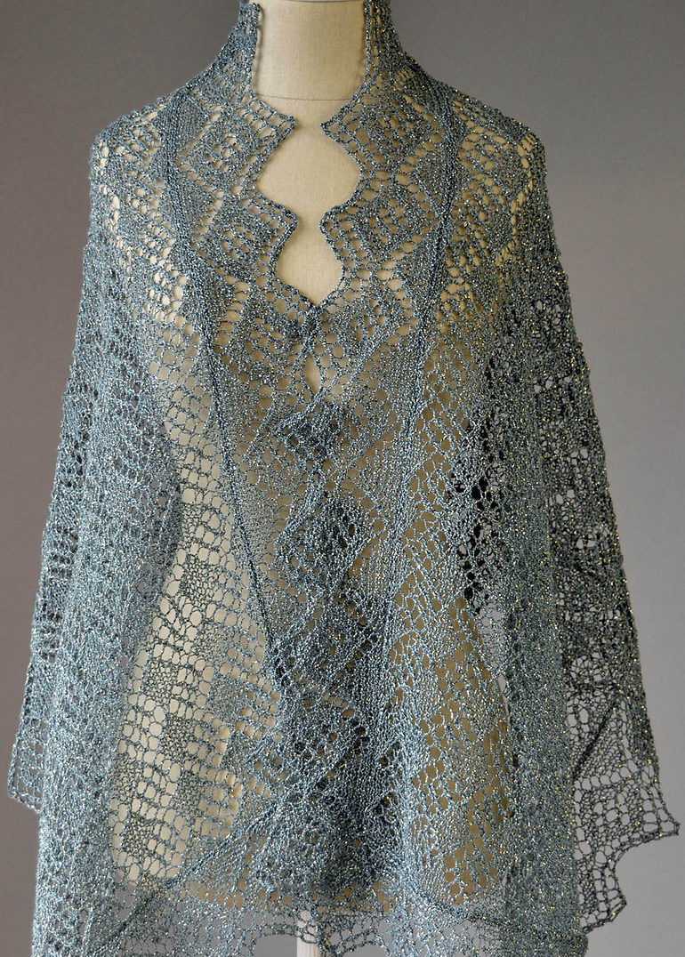 Beautiful Lace Shawl and Wrap Knitting Patterns Knitted Wrap Pattern Of Adorable 40 Photos Knitted Wrap Pattern