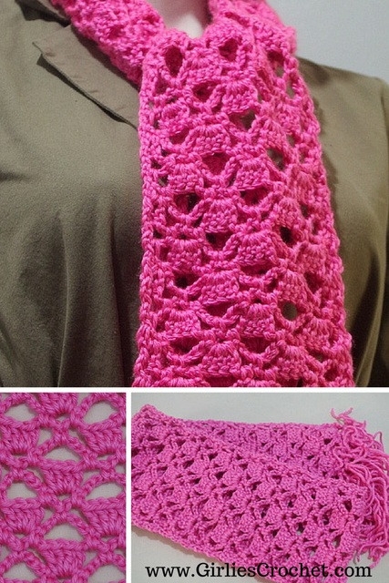 Beautiful Lacy Scarf Easy Crochet Scarf Patterns Free Of Lovely 49 Images Easy Crochet Scarf Patterns Free
